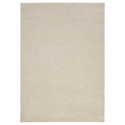 SPORUP Tappeto, pelo corto, beige chiaro, 170x240 cm