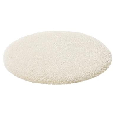 STEIVOR Cuscino per sedia pelle di pecora, bianco sporco, 35 cm
