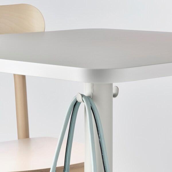 STENSELE Tavolo, grigio chiaro/grigio chiaro, 70x70 cm