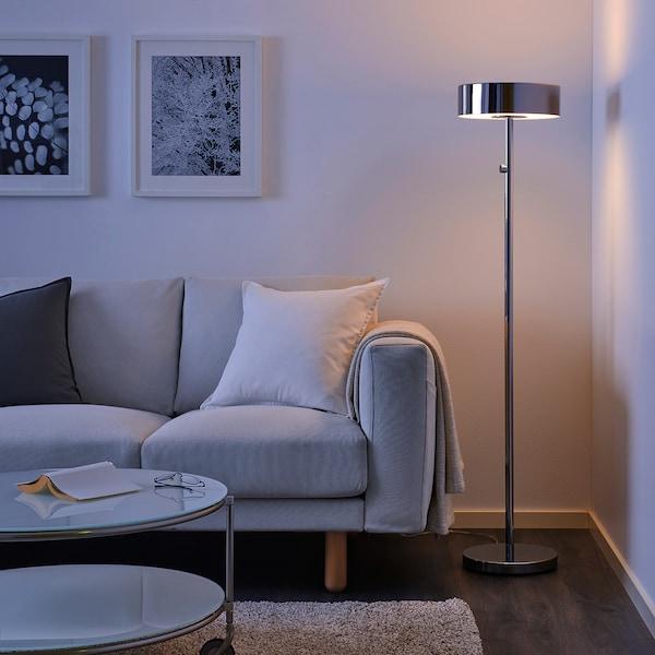 STOCKHOLM 2017 lampada da terra cromato 13 W 140 cm 28 cm 30 cm 2.0 m