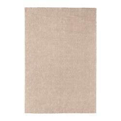 STOENSE - Tappeto, pelo corto, bianco sporco