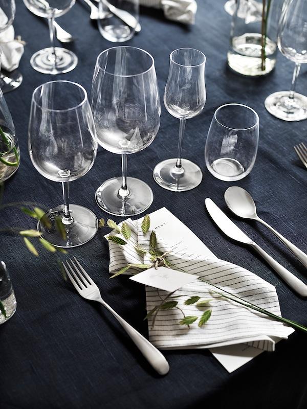 STORSINT bicchiere da vino da dessert vetro trasparente 21 cm 15 cl