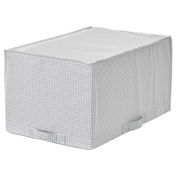 STUK Borsa portatutto, bianco/grigio, 34x51x28 cm