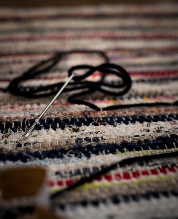 TÅNUM Tappeto, tessitura piatta, colori vari, 60x90 cm