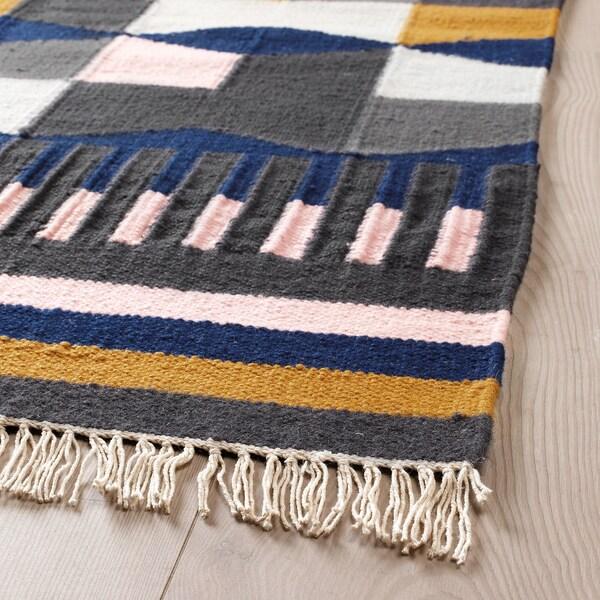 TÅRBÄK Tappeto, tessitura piatta, fatto a mano/fantasia, 170x240 cm
