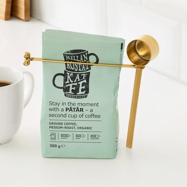 TEMPERERAD Misurino per caffè e clip, ottone