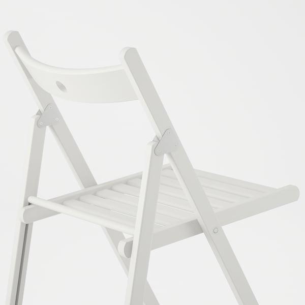TERJE Sedia pieghevole, bianco