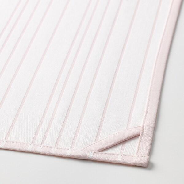 TIMVISARE Strofinaccio, giallo/rosa pallido, 50x70 cm