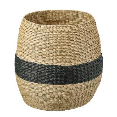 TJILLEVIPS cestino pianta erbacea/nero 40 cm 40 cm 20 cm