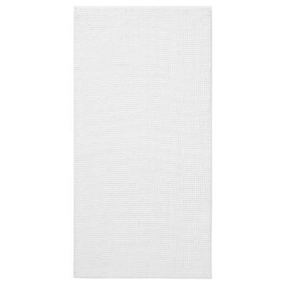 TOFTBO Tappeto per bagno, bianco, 60x120 cm