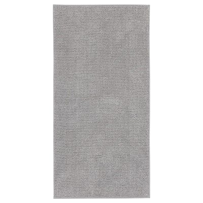 TOFTBO Tappeto per bagno, grigio perla melange, 60x120 cm
