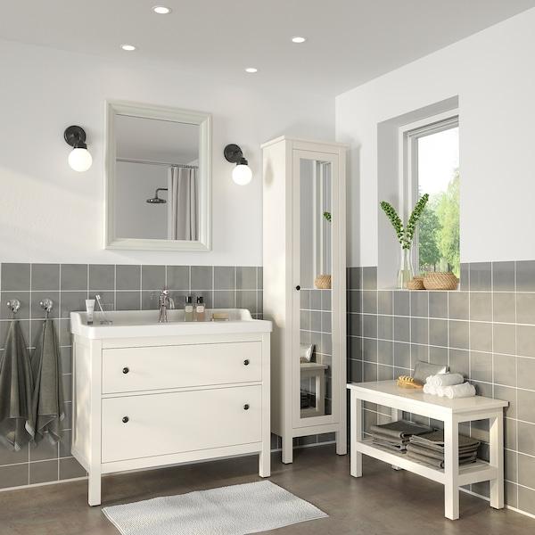 TOFTBYN Specchio, bianco, 65x85 cm