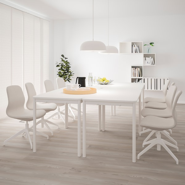 TOMMARYD Tavolo, bianco, 130x70 cm