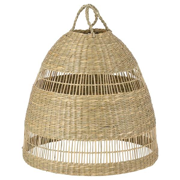 TORARED Paralume per lampada a sospensione, carice/fatto a mano, 36 cm