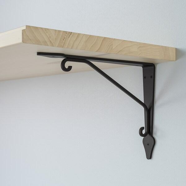 TRANHULT / KROKSHULT mensola e staffe pioppo tremulo 120 cm 30 cm 20 kg
