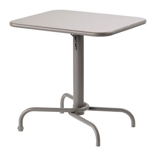 Tavoli Da Giardino In Alluminio.Tunholmen Tavolo Da Giardino Grigio Ikea