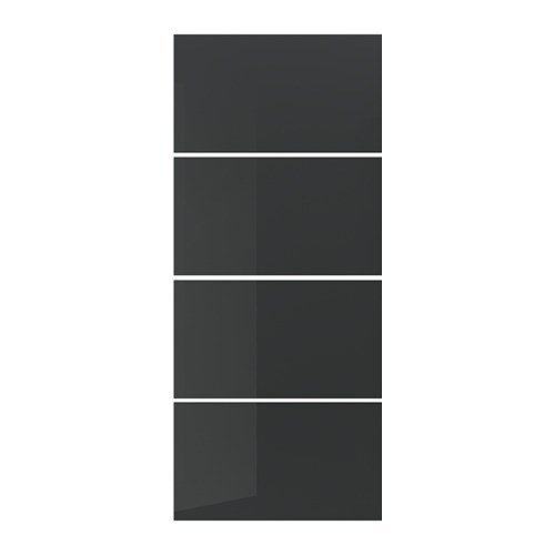 Uggdal 4 pannelli telaio anta scorrevole 100x236 cm ikea for Pannelli scorrevoli ikea