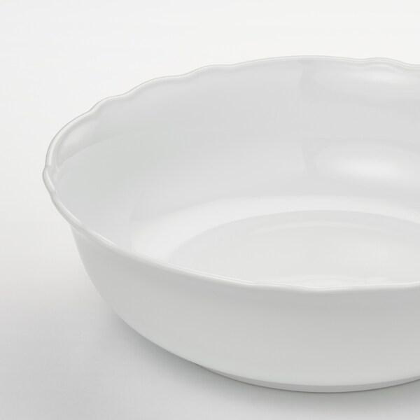 UPPLAGA Ciotola, bianco, 26 cm