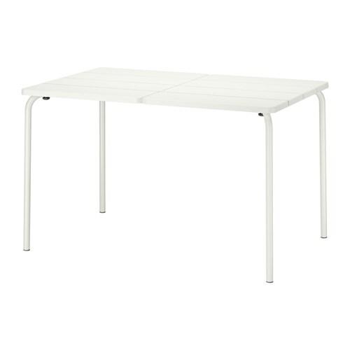 Tavolo Giardino Plastica Bianco.Vaddo Tavolo Da Giardino Ikea