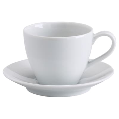 VÄRDERA Tazza da caffè con piattino, 20 cl