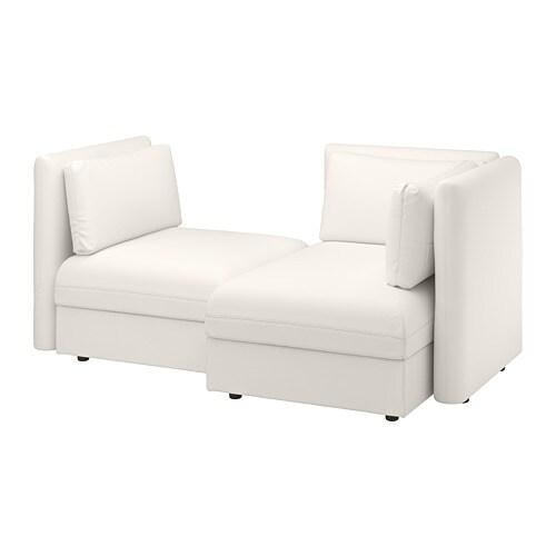 Vallentuna divano componibile a 2 posti con contenitore for Divano con contenitore ikea