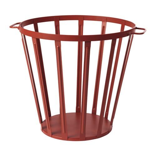 V ssad cestino marrone rosso ikea for Cestino bagno ikea
