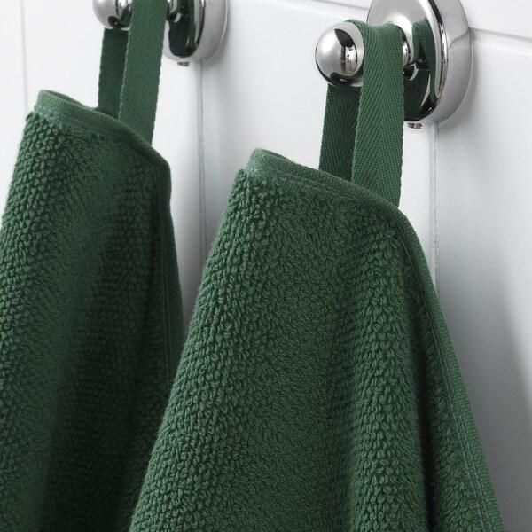 VIKFJÄRD asciugamano verde 140 cm 70 cm 0.98 m² 475 g/m²
