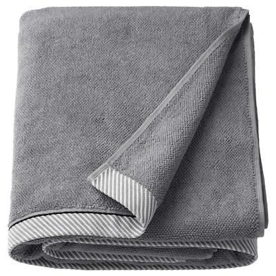 VIKFJÄRD Telo bagno, grigio, 100x150 cm