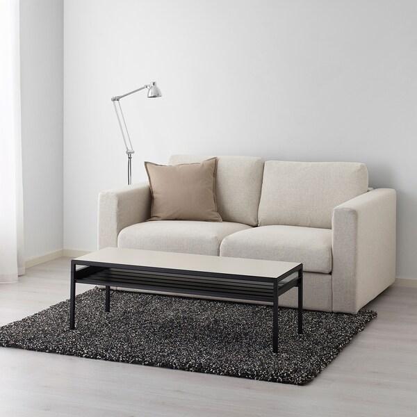 VINDUM tappeto, pelo lungo grigio scuro 180 cm 133 cm 30 mm 2.39 m² 4180 g/m² 2400 g/m² 26 mm