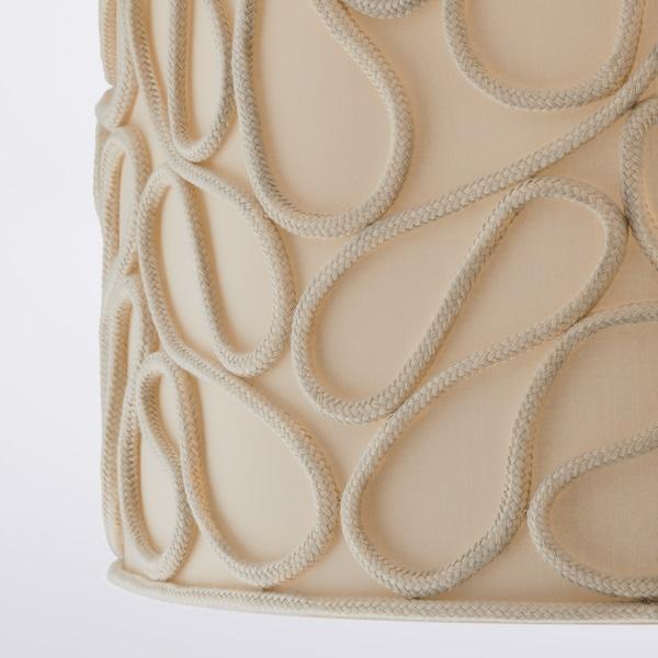VINGMAST Paralume, effetto corda beige, 42 cm