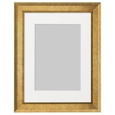 VIRSERUM Cornice, color oro, 30x40 cm