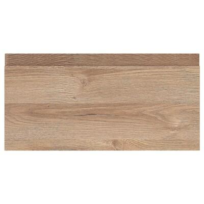 VOXTORP Frontale cassetto, effetto rovere, 40x20 cm