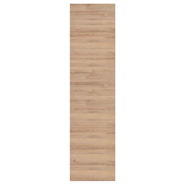 VOXTORP Rivestimento laterale, effetto rovere, 62x240 cm
