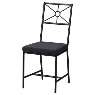 ALLSTA Židle, Ransta tmavě šedá/černá