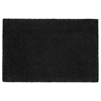 ALMTJÄRN Koupelnová předložka, tmavě šedá, 60x90 cm