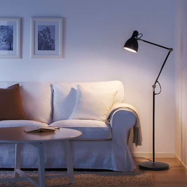ARÖD stojací/čtecí lampa antracit 13 W 170 cm 30 cm 15 cm 185 cm