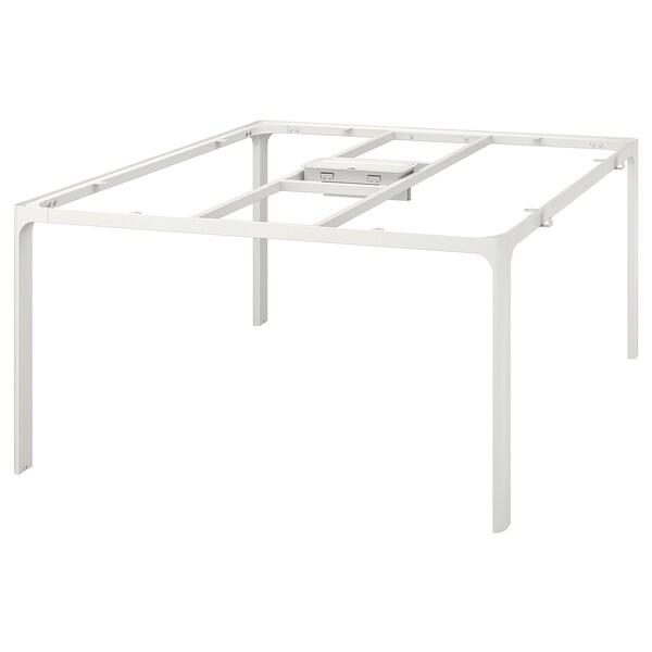 BEKANT Rám pro stolní desku, bílá, 140x140 cm