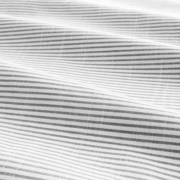 BERGPALM povlečení na jednolůžko šedá/proužek 118 Palec²  1 ks 200 cm 150 cm 50 cm 60 cm