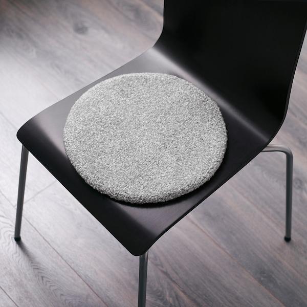 BERTIL Sedák na židli, šedá