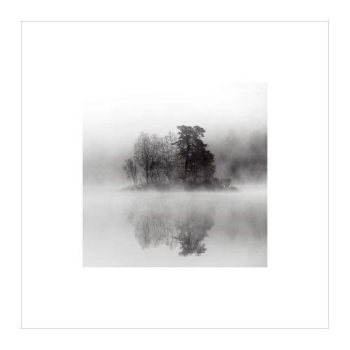 BILD Plakát, Jezero v mlze Šířka: 50 cm Výška: 50 cm