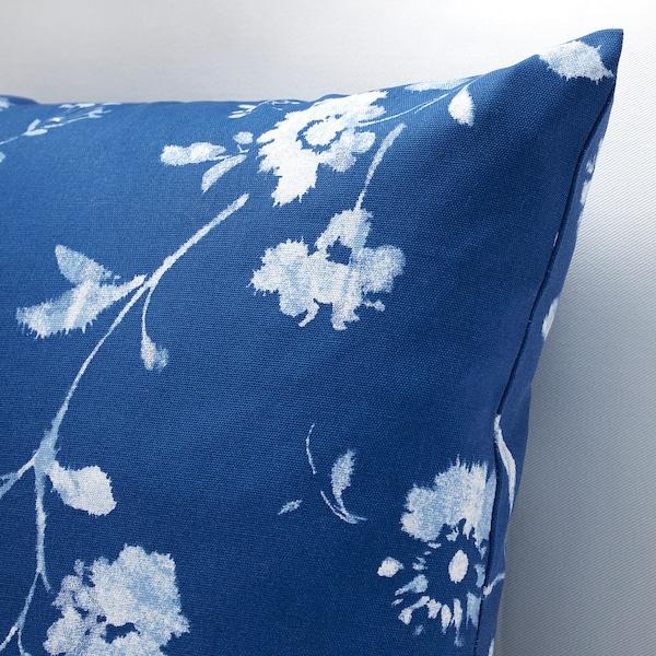 BLÅGRAN povlak na polštář modrá/bílá 50 cm 50 cm