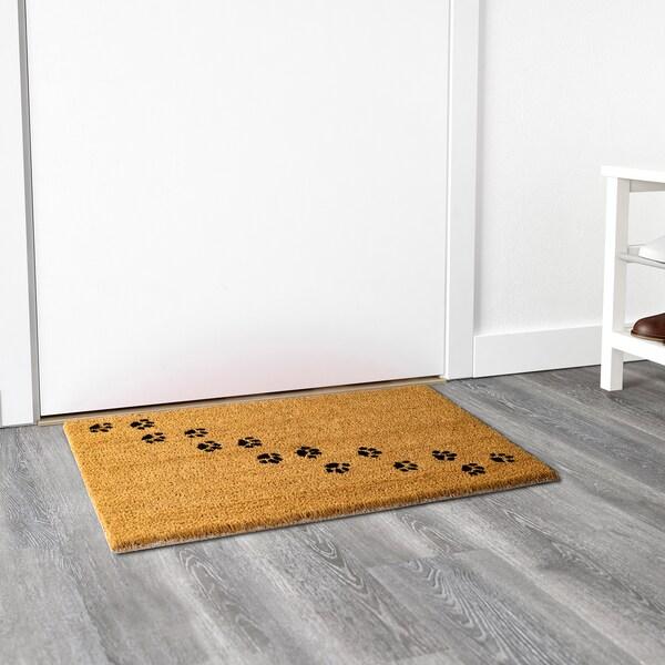 BLÅVAND rohožka černá 70 cm 40 cm 0.28 m²