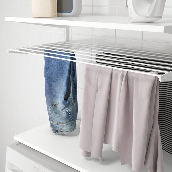 BOAXEL Sestava na praní prádla, bílá, 82x40x201 cm