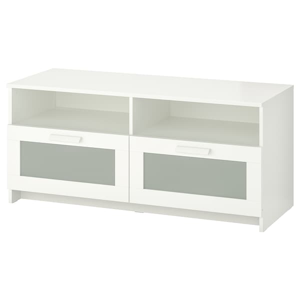BRIMNES TV stolek, bílá, 120x41x53 cm