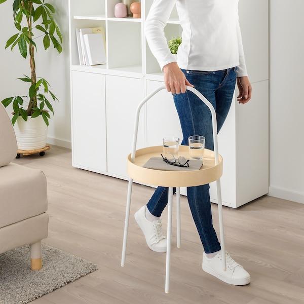 BURVIK odkládací stolek bílá 78 cm 45 cm 38 cm