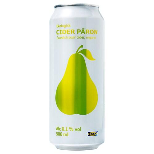IKEA CIDER PÄRON Hruškový šumivý nápoj 0,1 %