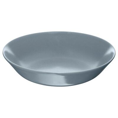 DINERA Hluboký talíř, šedo-modrá, 22 cm
