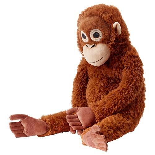 DJUNGELSKOG plyšová hračka orangutan 66 cm