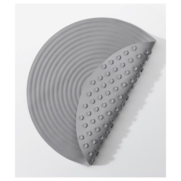 DOPPA Podložka do sprchy, tmavě šedá, 46 cm