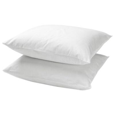 DVALA povlak na polštář bílá 152 Palec²  2 ks 70 cm 90 cm 2 ks